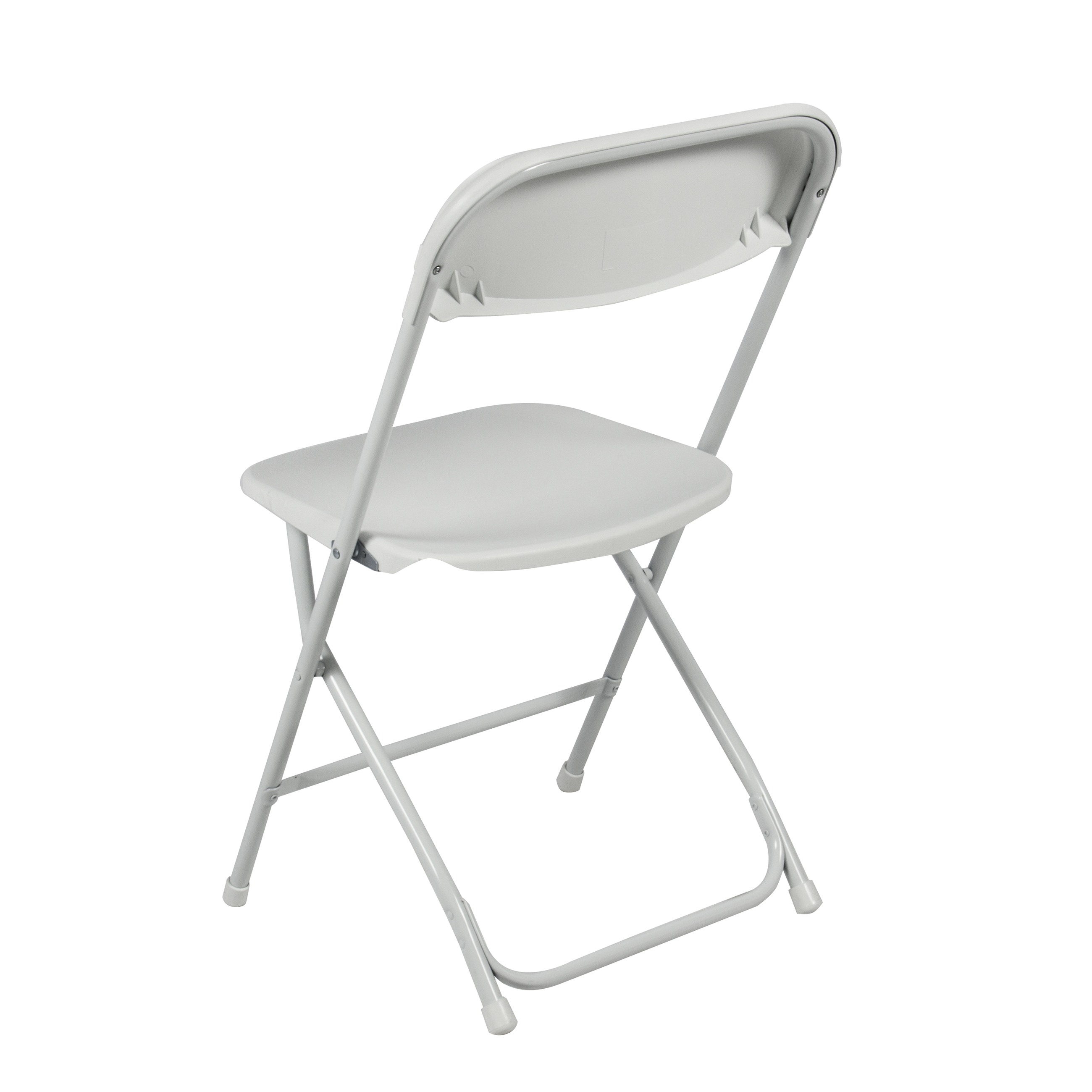 Elegant 5-pack commercial white plastic folding chairs stackable wedding party  event chair - ufoehls