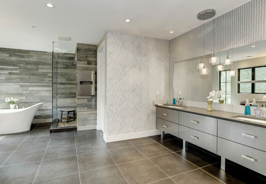 The difference between paired and single bathroom pendant lighting