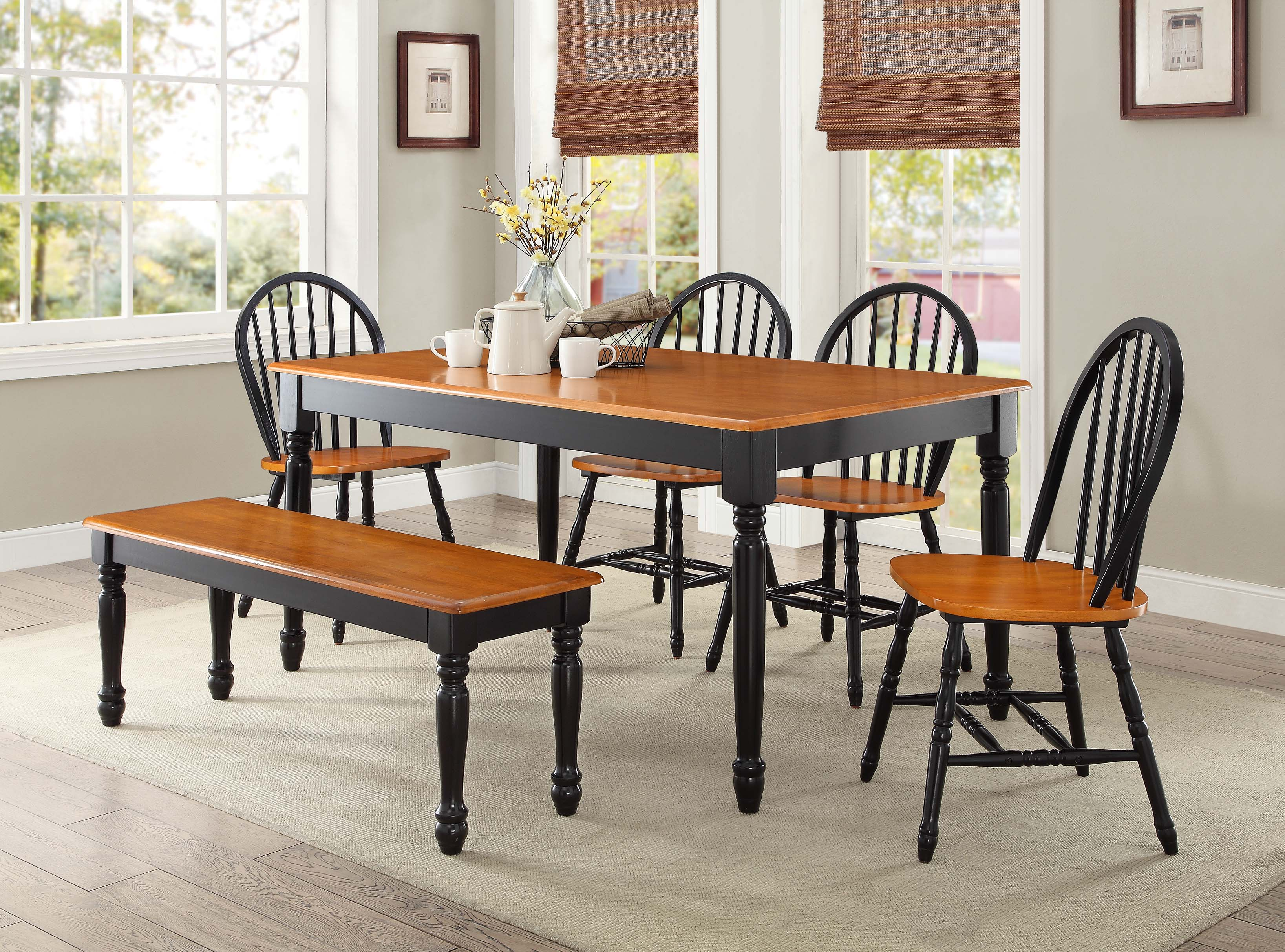 How to design with black dining room furniture