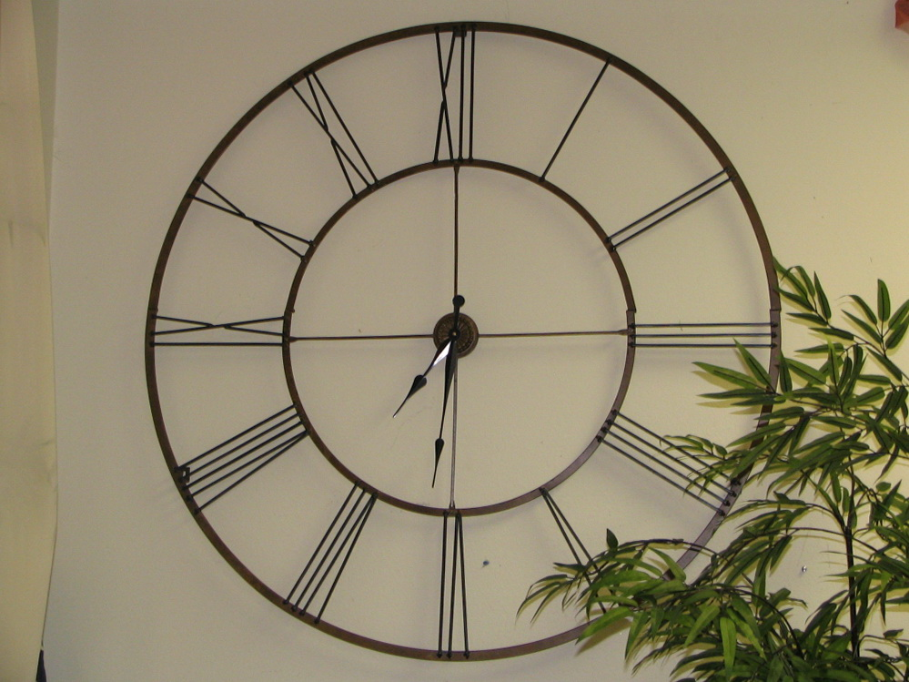 Elegant large kitchen wall clocks the leaking clock not sure id actually want this on unique vsoptzn