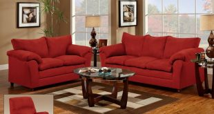 Elegant red living room furniture red couch and loveseat - living room   for the home   pinterest vogtlpb