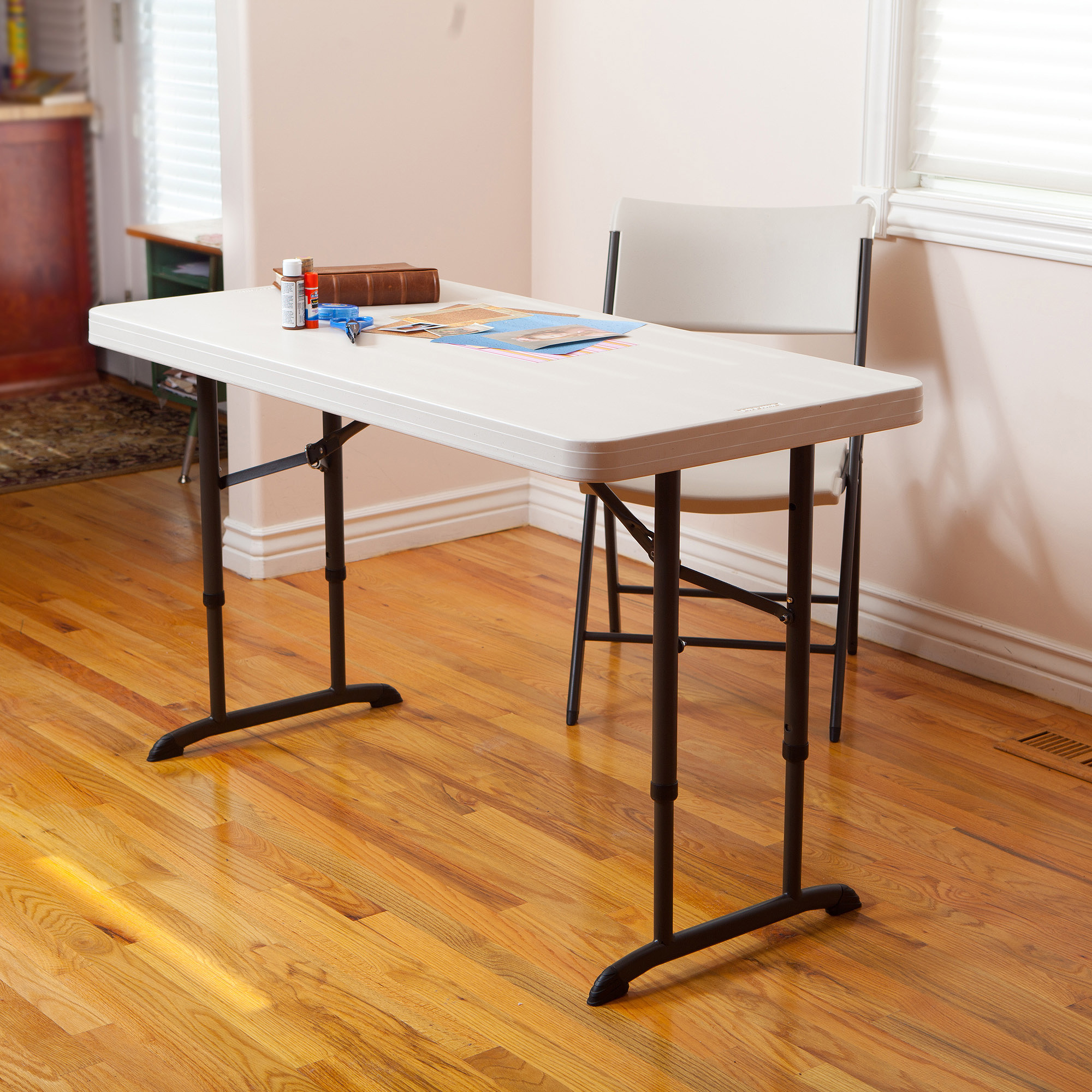 How to buy adjustable height folding table