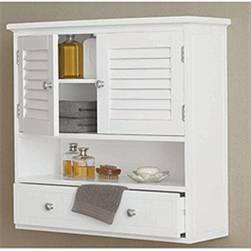 Excellent amazing design of the bathroom wall storage cabinets with white wooden  materials xchfmeb