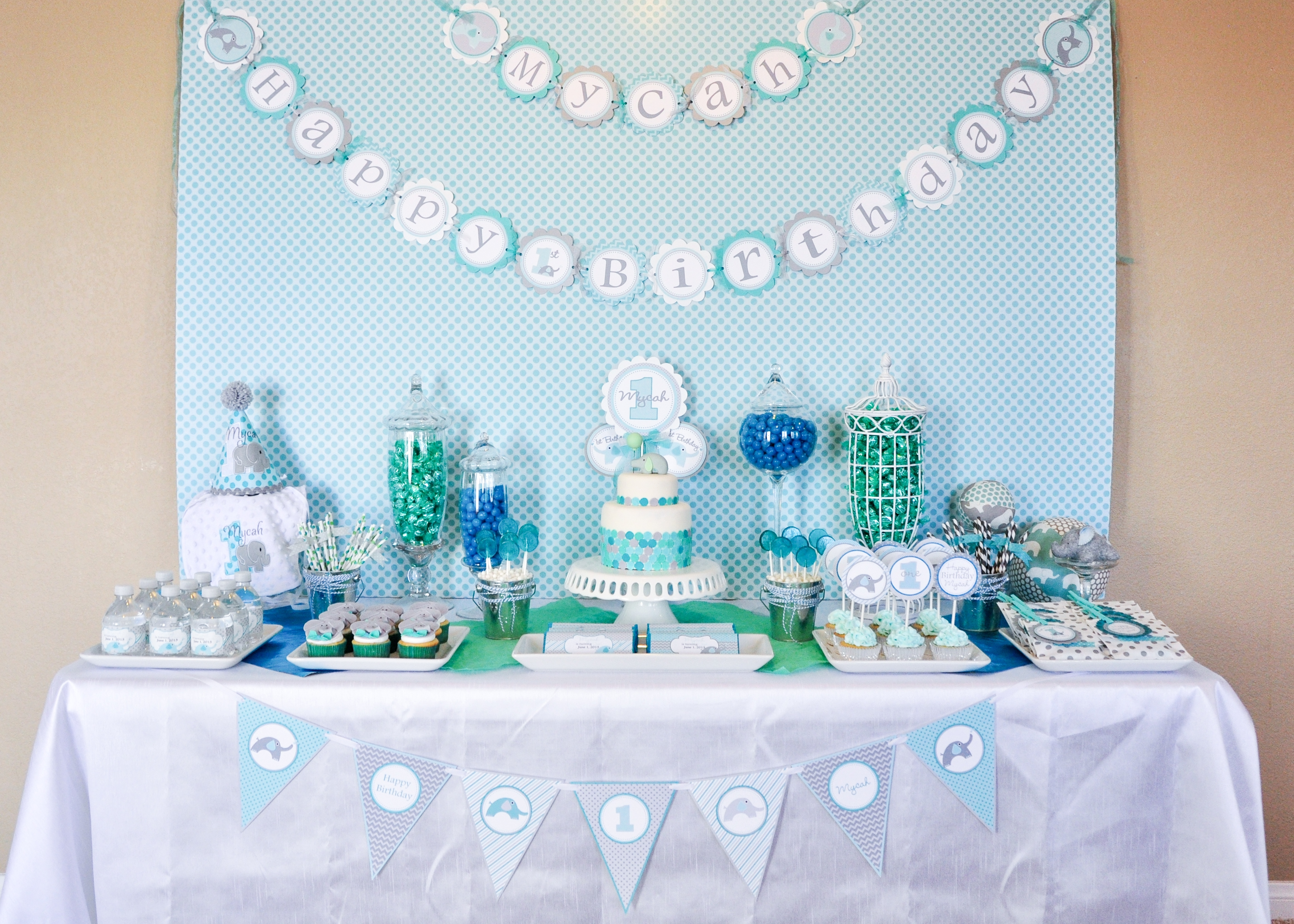 5 great ideas for elephant baby shower decorations