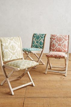 How to diy upholstered folding chairs