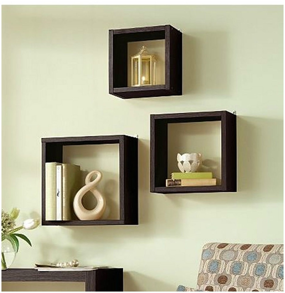 Excellent wall mounted cube shelves fshunxv