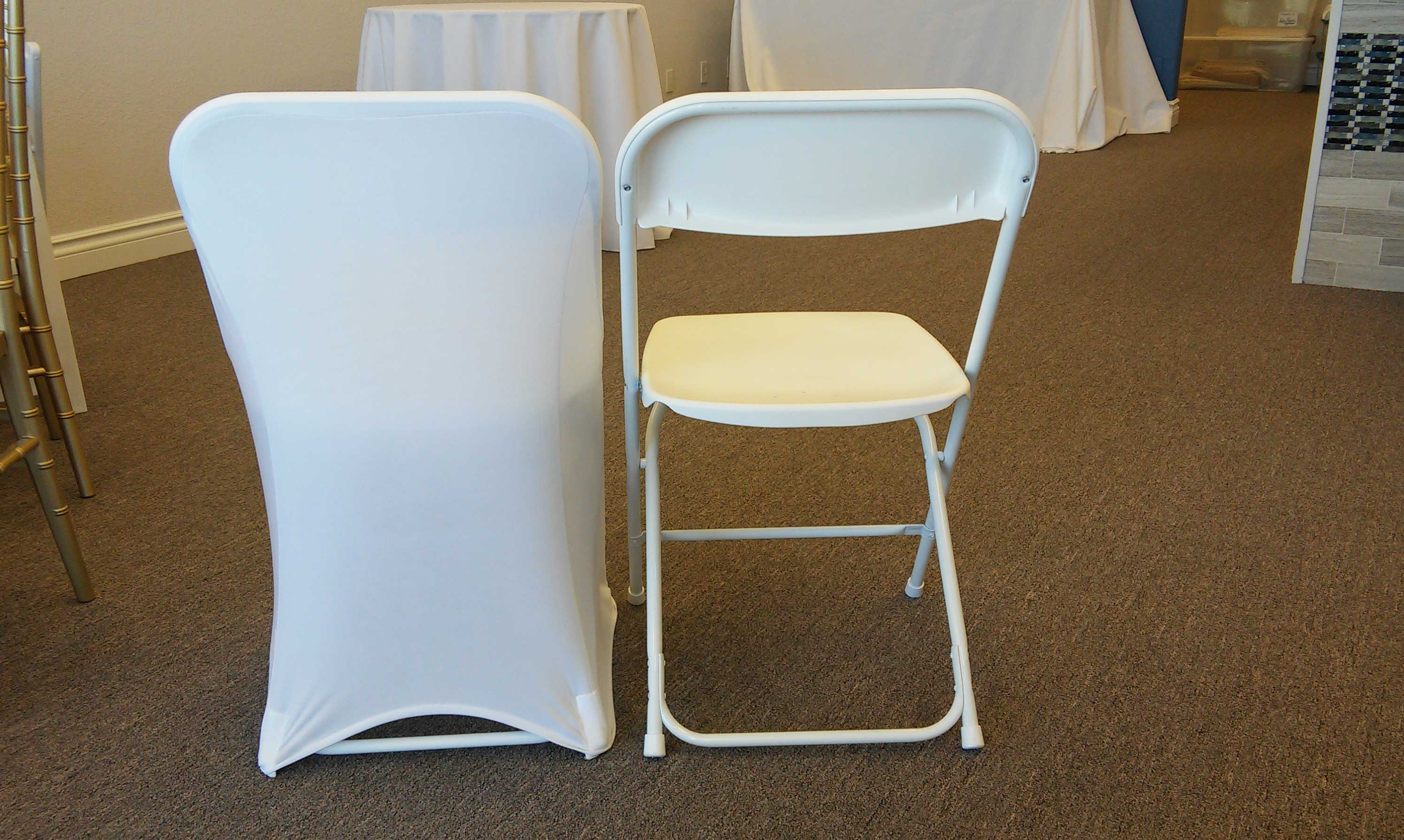 Fashionable chair covers for folding chairs chair covers, rent, spandex, folding chair, lake of the ozarks, missouri nyumels