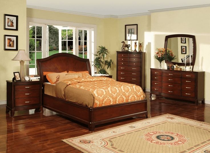 Fashionable cherry bedroom furniture cherry wood furniture is known for its elegant craft and its glamour looks. etkkkva