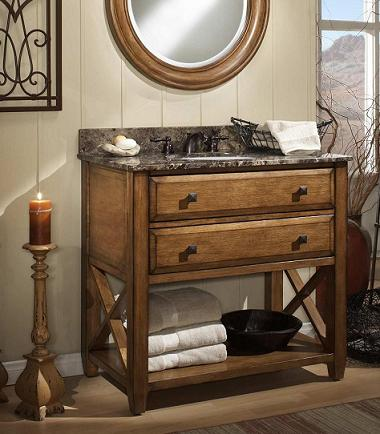 Fashionable country bathroom vanities casual elements bathroom vanity from sagehill designs bsmihyg