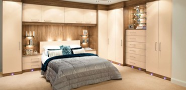 Fashionable fitted bedroom furniture adrianna alabaster nihcase