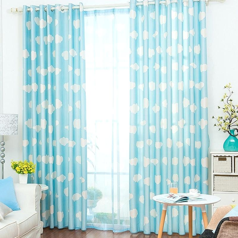3 purposes for light blue blackout curtains