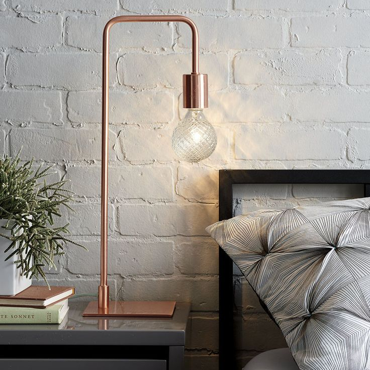 Fashionable side table lamps for bedroom 12 bedside table lamps to dress up your bedroom ksguryc