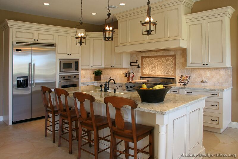 Great antique white kitchen cabinets traditional antique white kitchen nybpgad