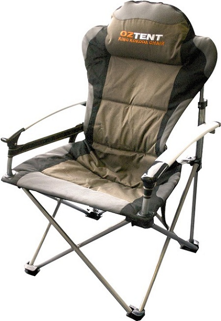 Great comfortable camping chairs king kokoda chair djhzjfx