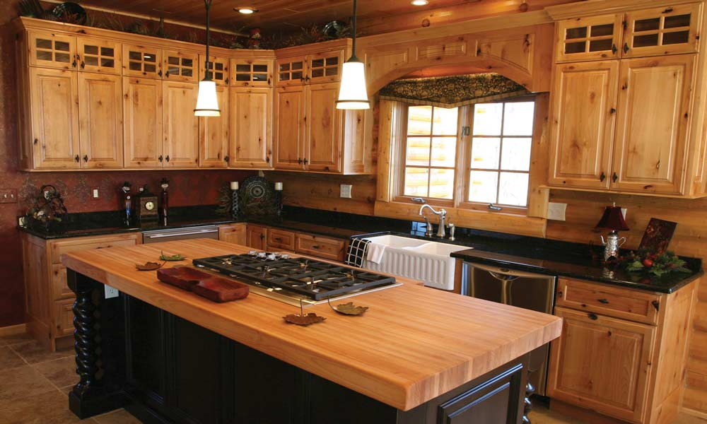 Great knotty pine kitchen cabinets unfinished pine kitchen cabinets works well in different designs: bredgai