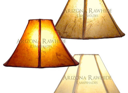 Great lamp shades for table lamps rawhide lamp shade small/med table lamps size 9quot;h x 15quot;w ( ztfvhfr