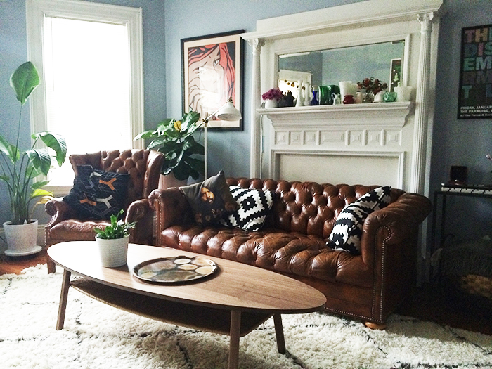 The art and joy of mixing and matching living room furniture