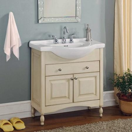 Great narrow bathroom vanities windsor 30 inch white vanity from empire industries oetavym