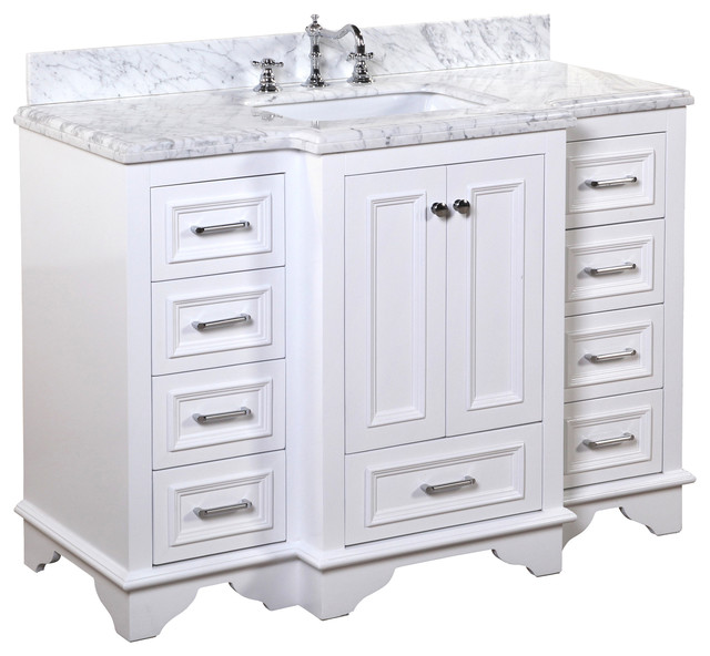 Great traditional bathroom vanities nantucket bath vanity, base: white, 48 hcwjhef