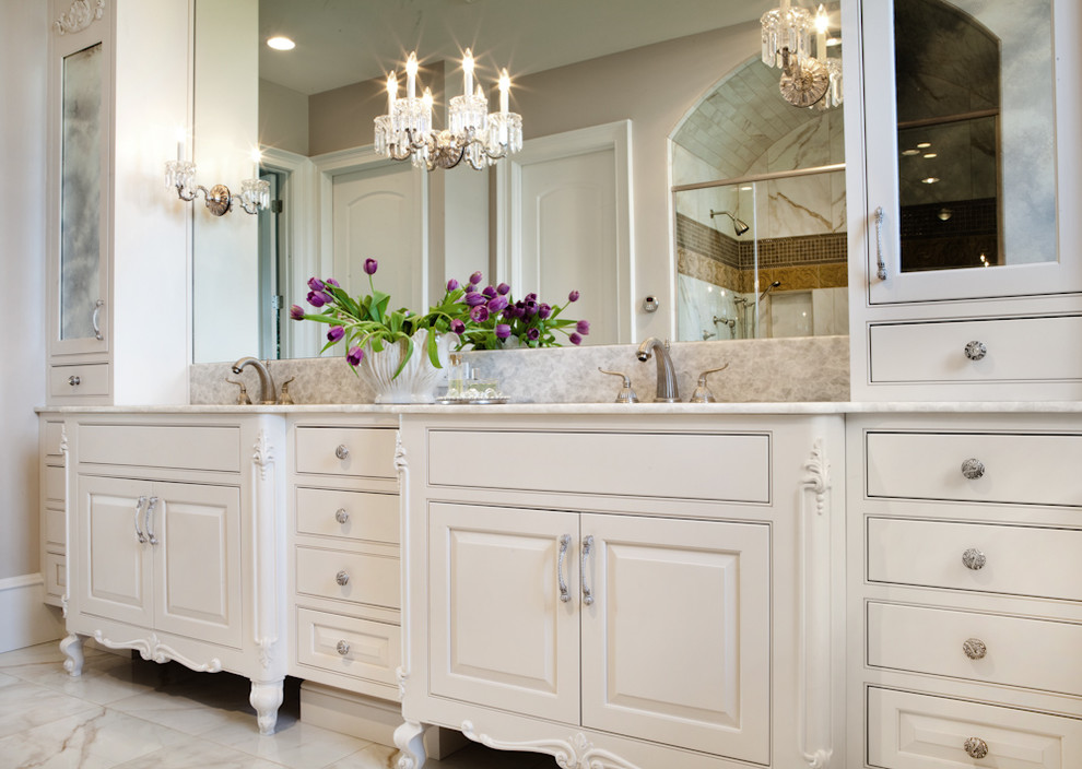 Home Decor ... large traditional bathroom vanities ... bwdjlep