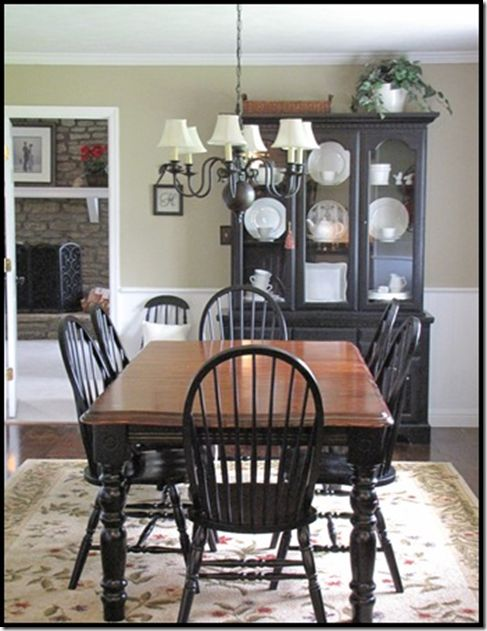 Images of black dining room furniture parade of homes (and master bedroom reveal. painted dining room tableblack  ... fgknwqx