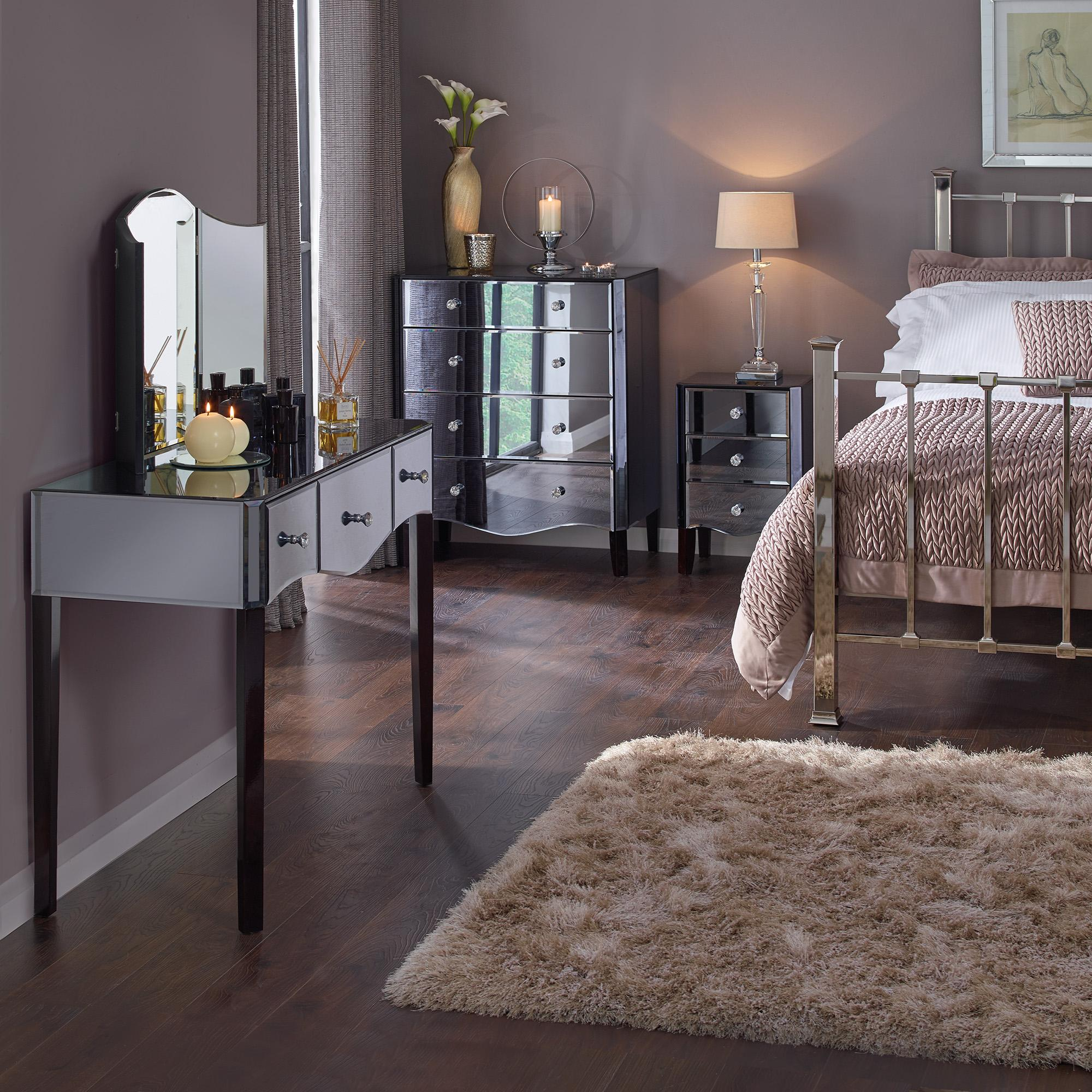 Images of mirrored bedroom furniture viola smoke bedroom collection jfhvrnx