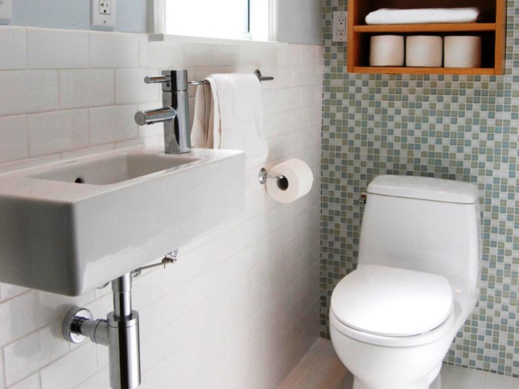 Spruce up your narrow bathroom vanities for an easy upgrade