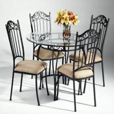 Impressive chin-0710dtb-wrought iron dining table base vepfjap