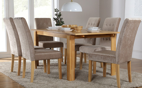 Impressive dining table and 6 chairs - 6 aqypxjz