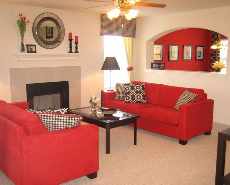 Impressive red living room furniture | minimalist living room with fireplace red sofas jfvlkyq