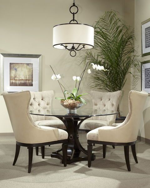 Impressive round glass dining table 17 classy round dining table design ideas bycpikd
