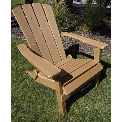 Inspiration composite adirondack chairs stonegate designs composite foldable adirondack chair - brown orfnjvp