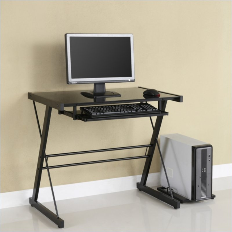 Inspiration innovative small computer desk small black computer desk sidetracked zxehumq
