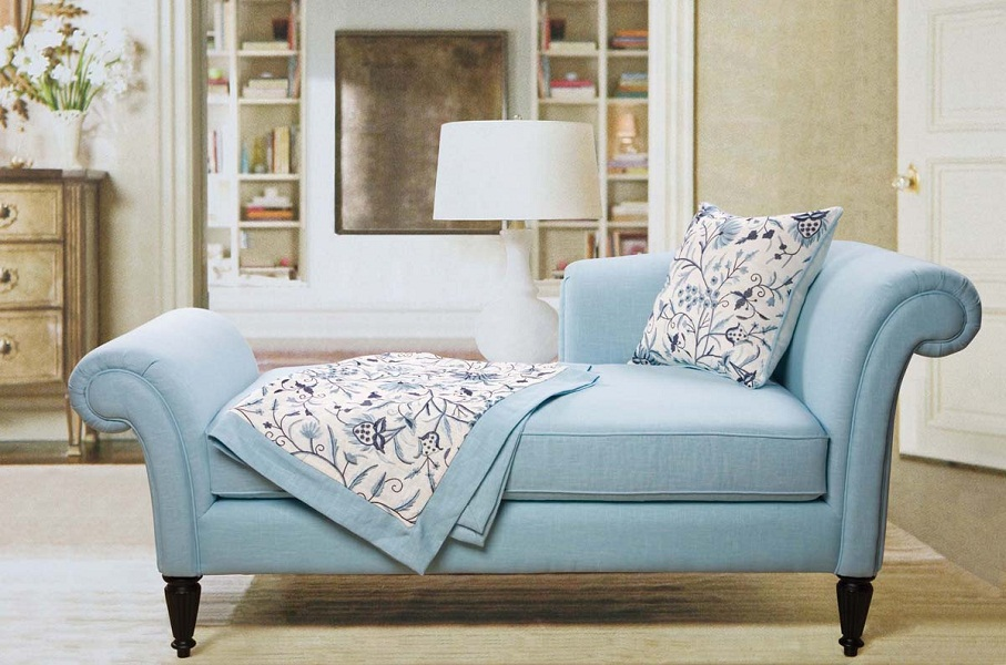 Interior small blue couch of small loveseat for bedroom uwzpolw