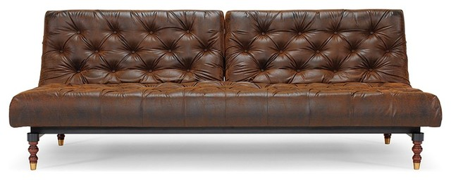 Interior stunning chesterfield sleeper sofa innovation living chesterfield vintage  style leather sofa bed pssmcbi