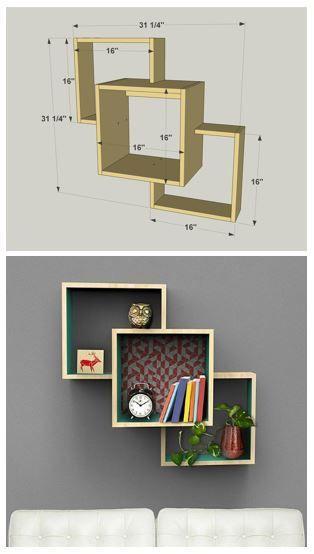 Interior wall mounted display shelves teds woodworking plans review | display shelves, diy wall and wall mount trqnrzb