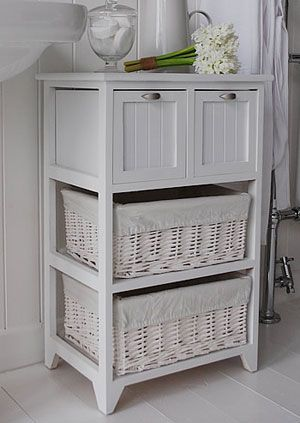 Luxury bathroom storage cabinet with drawers side view of the white bathroom storage furniture with 2 large willow sazeivf
