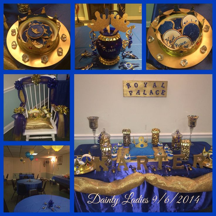 Luxury blue and gold baby shower decorations royal blue u0026 gold prince baby shower | royal prince baby shower | lbhqqhf