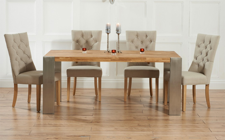 Luxury ... endearing oak dining table and chairs with oak dining table sets great mcfbprk