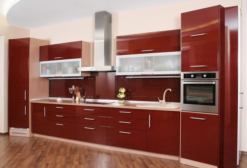 Luxury ... gorgeous laminate kitchen cabinets with laminate kitchen cabinets  refacing stunning kitchen rerryql