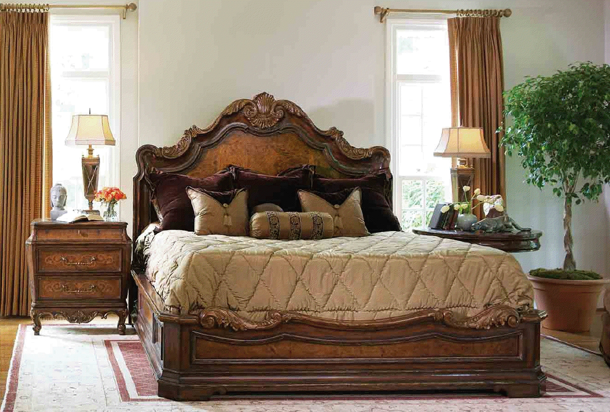 Luxury high end bedroom furniture beds - queen, king u0026 california king sizes high end master bedroom set, xrsmyvf