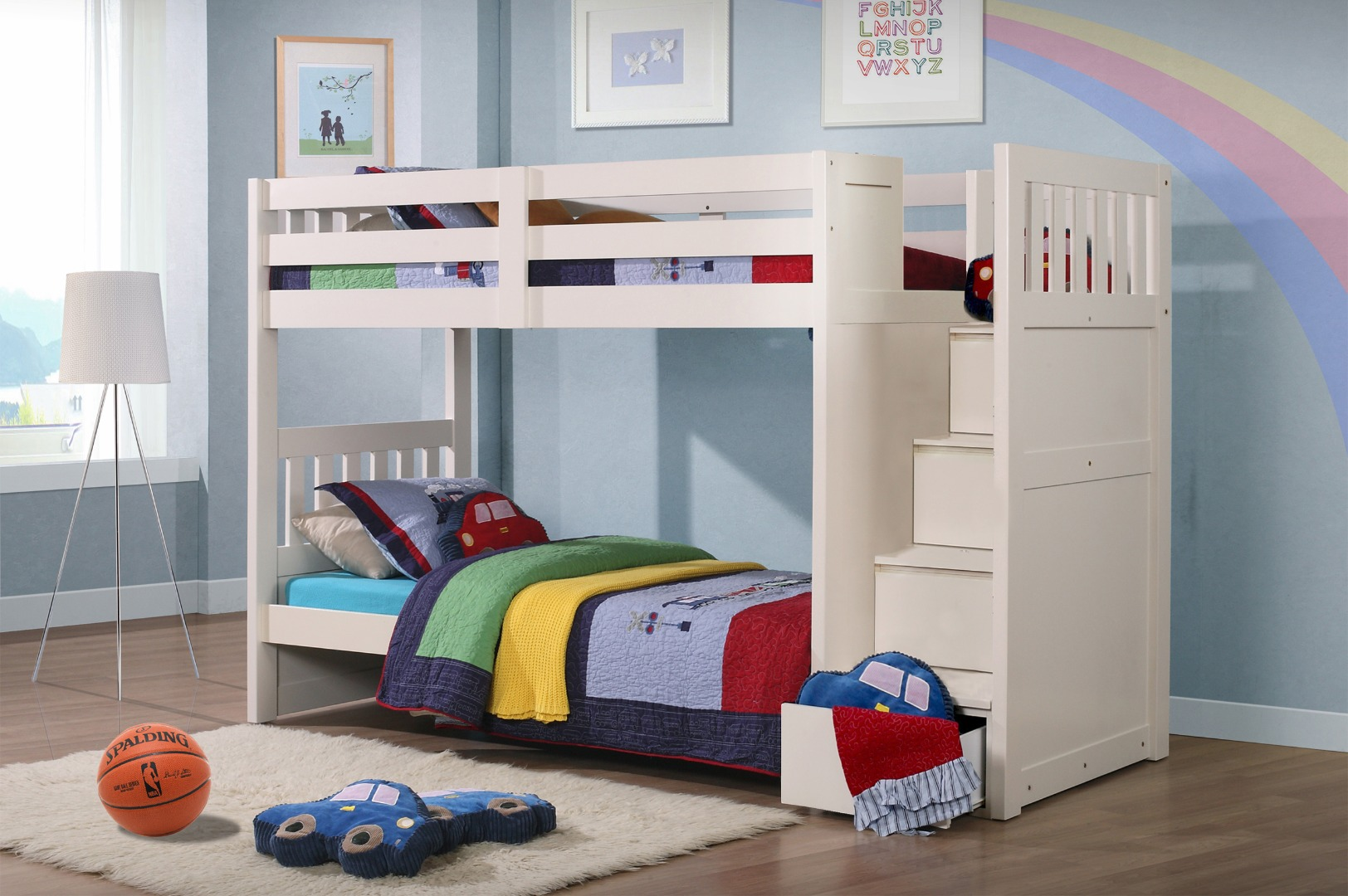 Luxury kids bunk beds with stairs ... bunk bed stairs bed with stairs for kids o enigh loft kid aixtblo