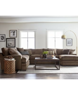 Luxury living room furniture sets teddy fabric sectional collection, created for macyu0027s ikfyyln