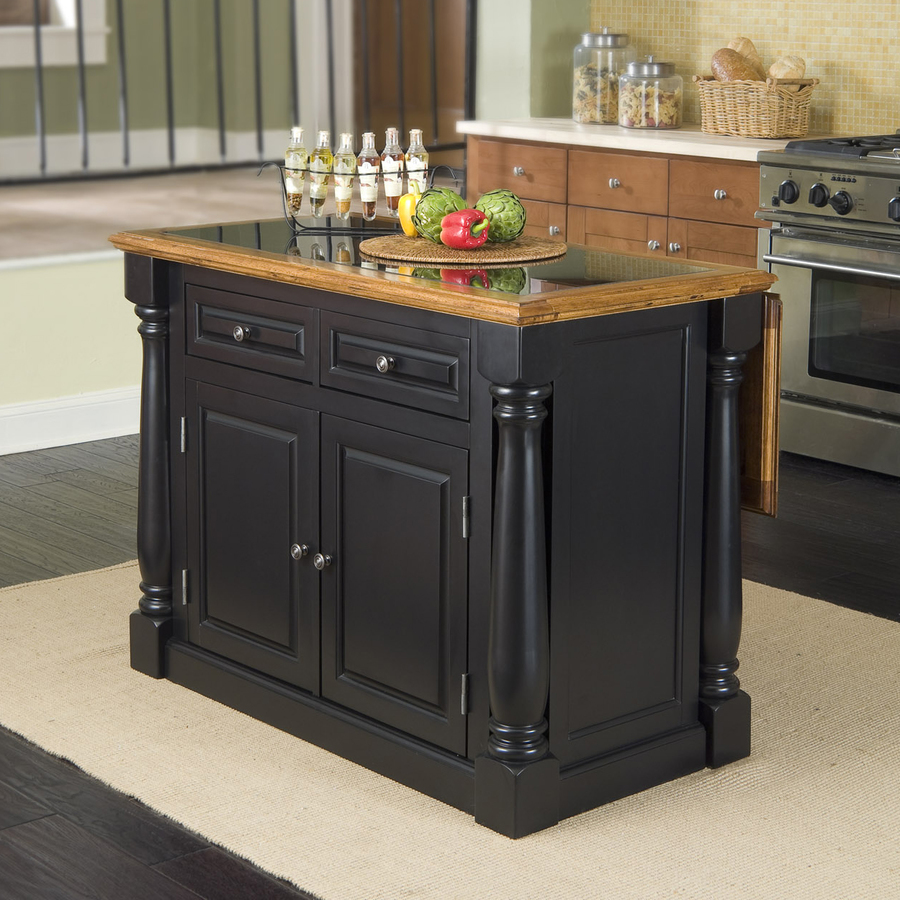 Majestic kitchen carts and islands home styles black midcentury kitchen island hzqbtyn