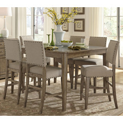 Majestic weatherford counter height dining table, liberty, weatherford collection qxecsvg