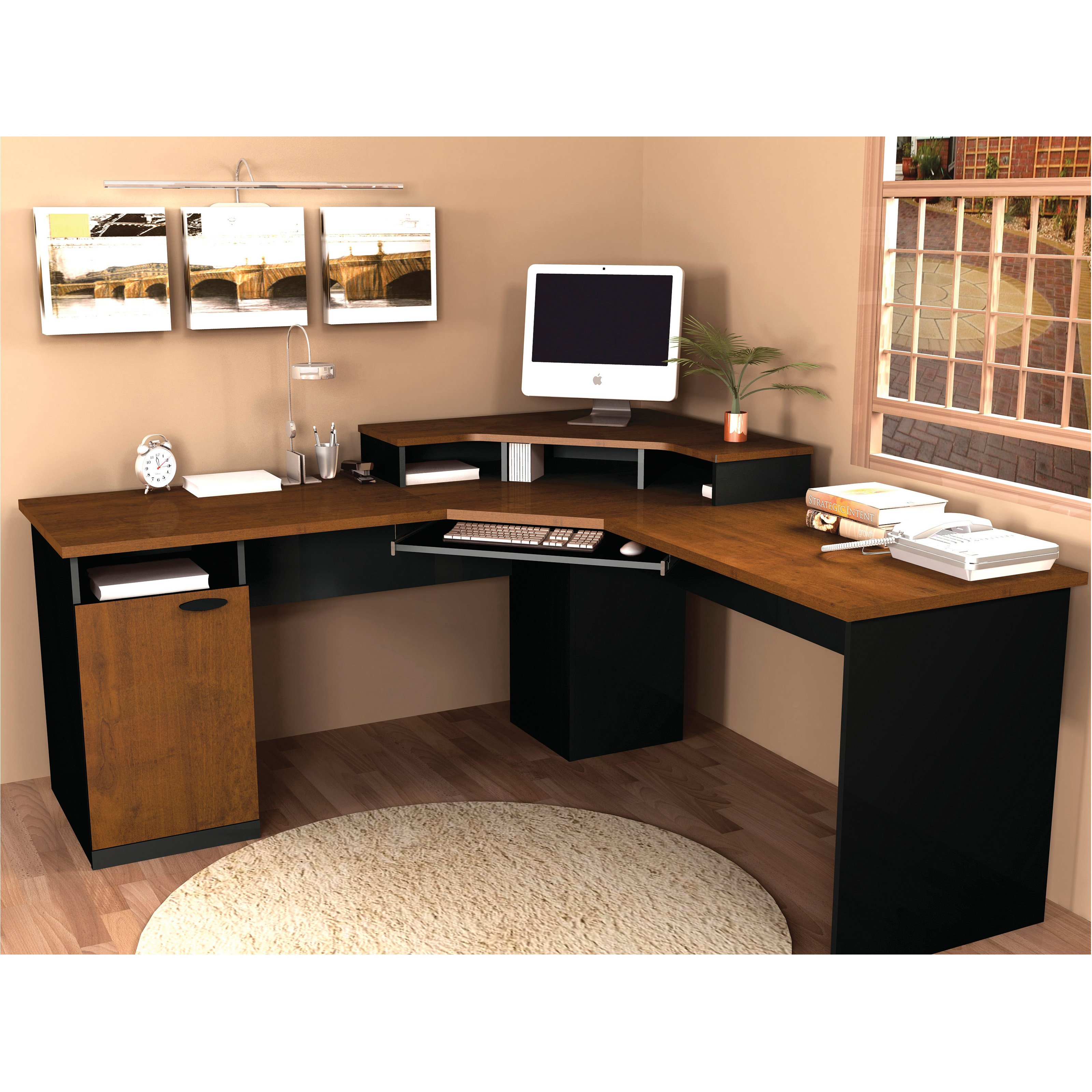 Master home office computer desk best choice products writing desk mission cherry home office computer solid  wood ddqhxud