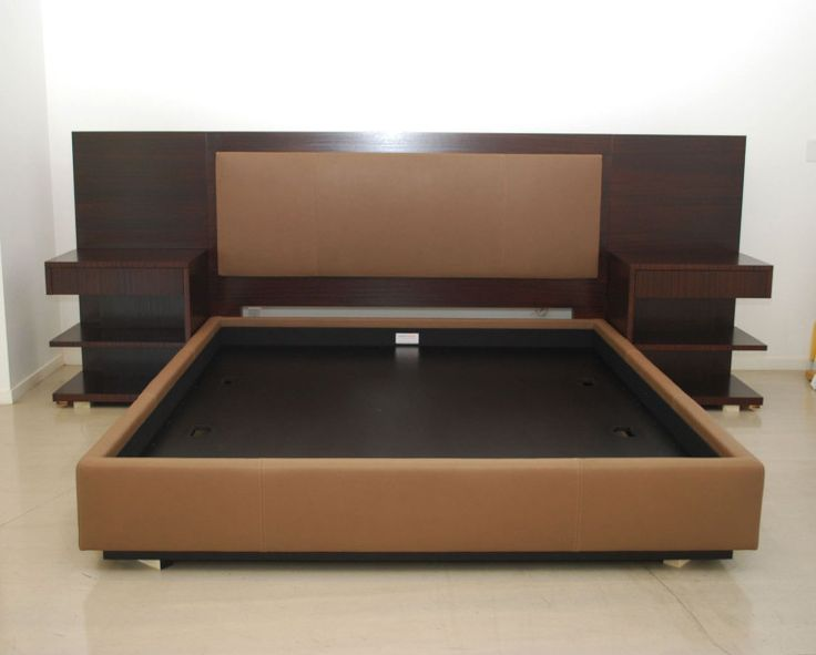 Master king size bed frame with headboard modern king platform bed frame built in side table and height headboard xebcpyz