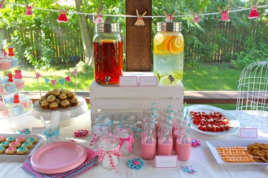 Master outdoor baby shower decorations spring-baby-shower jbuczcs
