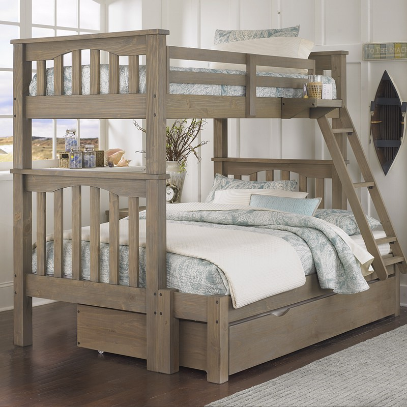 Modern bunk beds twin over full highlands harper twin over full bunk bed vdxvjuz