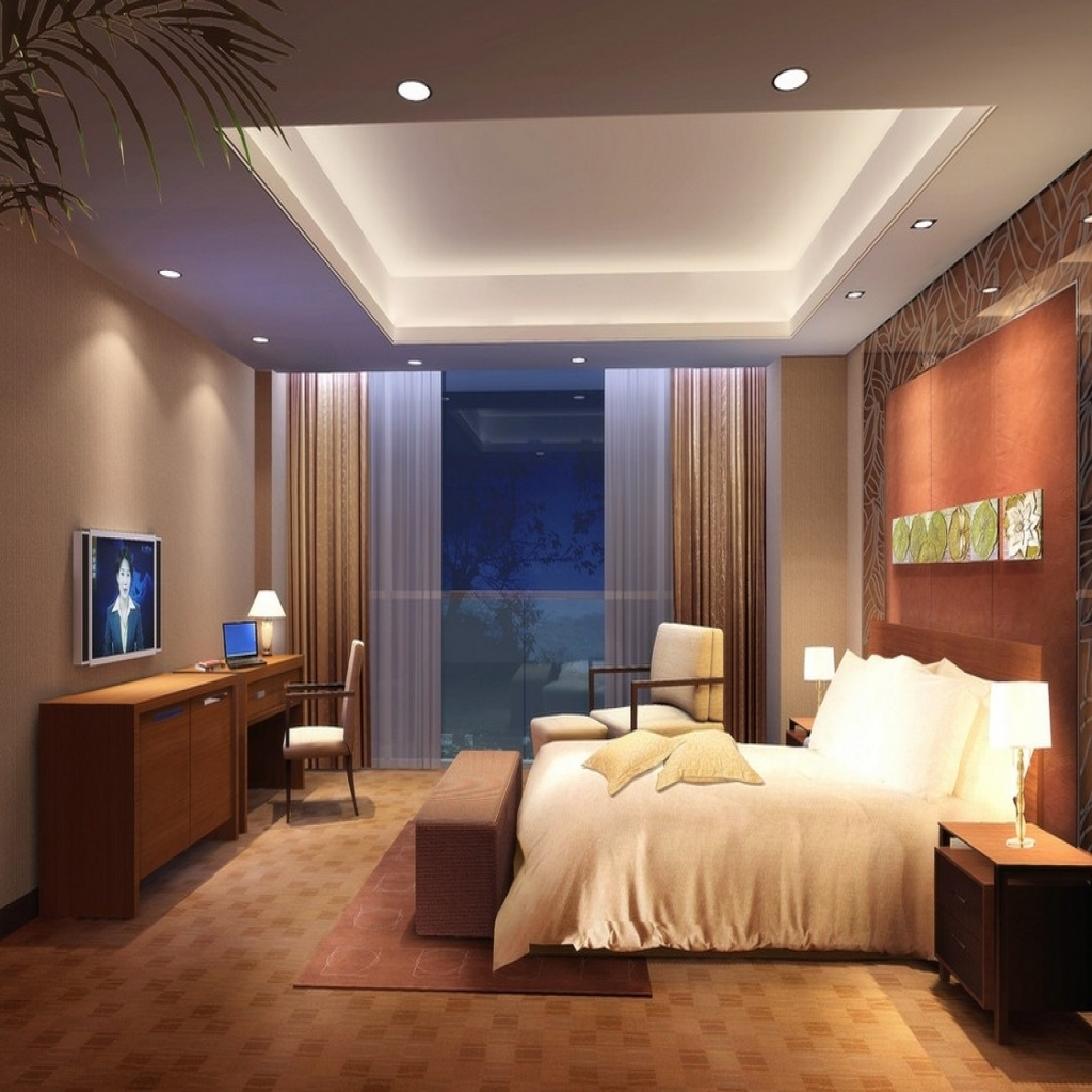 Modern ceiling lights for bedroom image of: bedroom ceiling lights led vidgumy